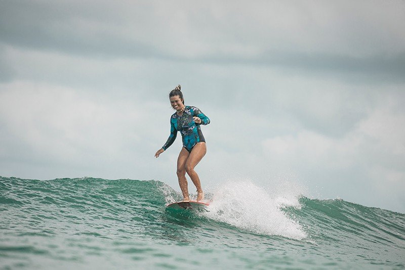 MAIO MANGA LONGA SURF UV POLINESIA